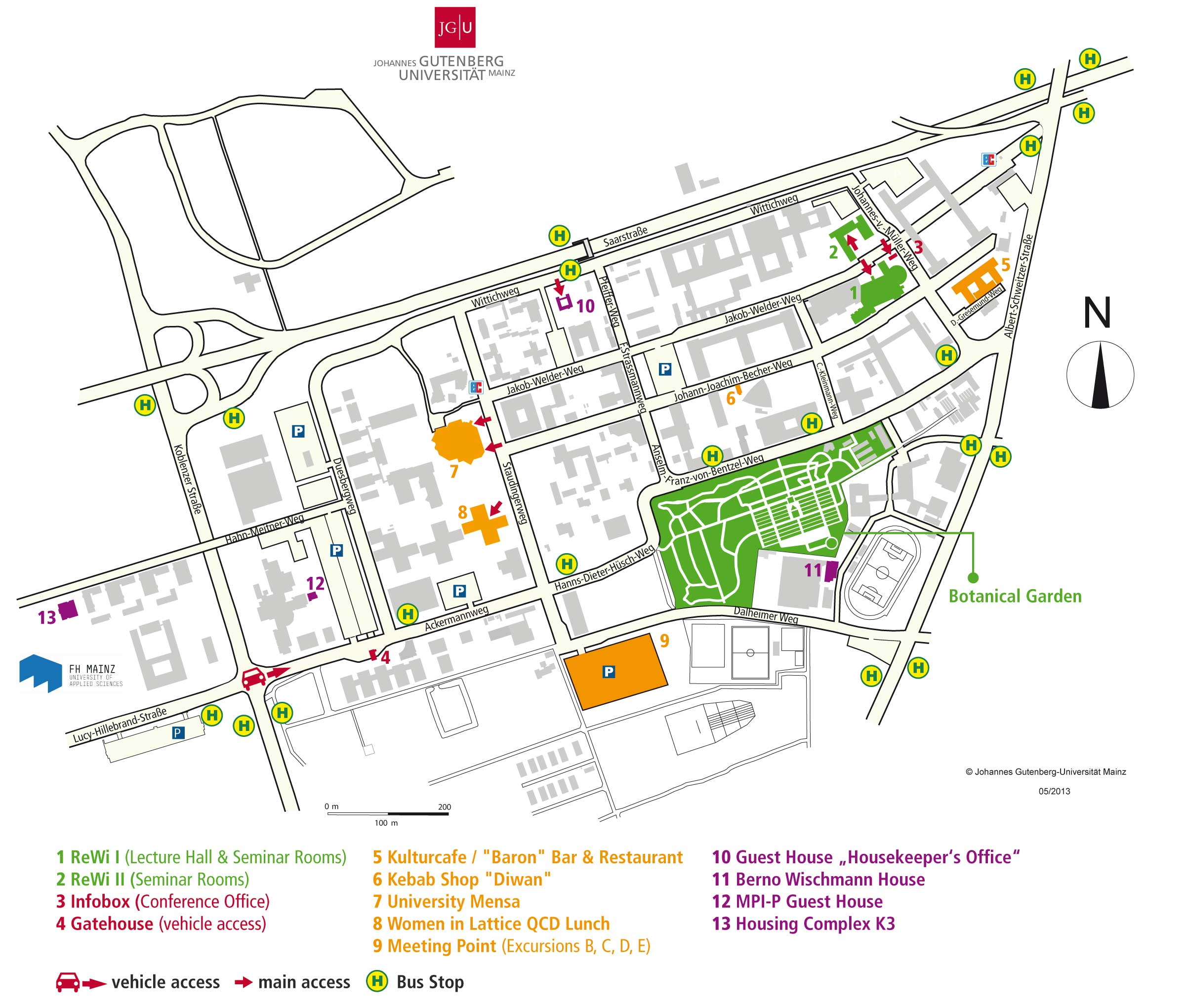 Heidelberg University Campus Map.Excursion C Guided Tour Of Heidelberg